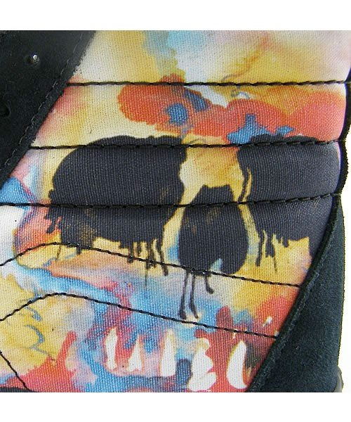Vans Sk8 High - Water Color Skull