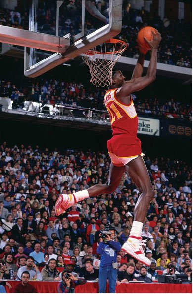 Sprite Slam Dunk Contest Trendsetters - Dominique Wilkins (#3)