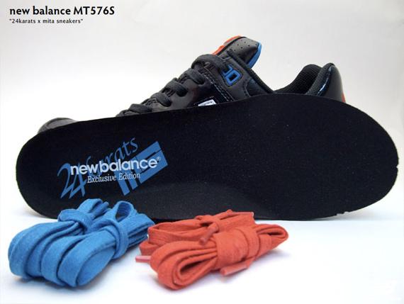 24karats x mita sneakers x New Balance MT576S