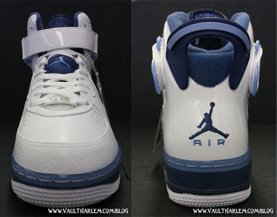 Air Jordan Force Fusion VI (6) - White / Court Blue - University Blue