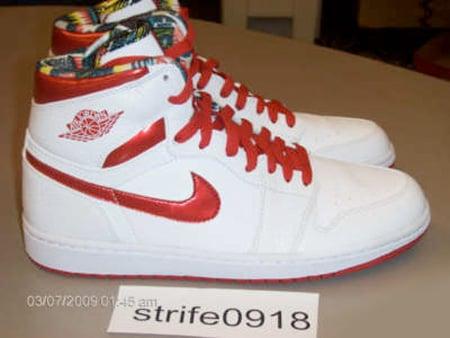 Air Jordan I (1) High - White / Metallic Red | DTRT Pack