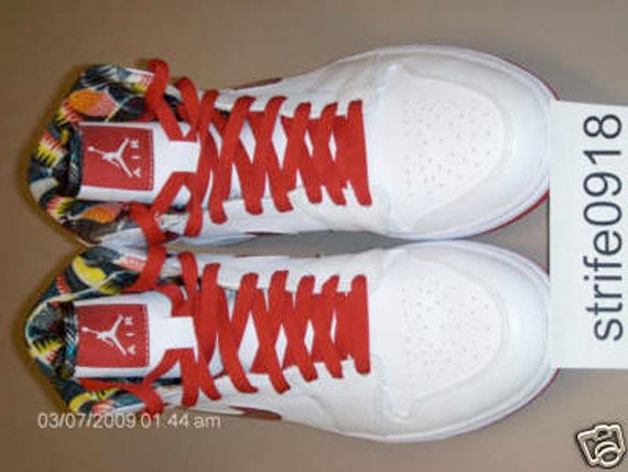 Air Jordan I (1) High - White / Metallic Red | DTRT Pack