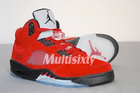 Air Jordan V (5) - Raging Bull Detailed Pictures