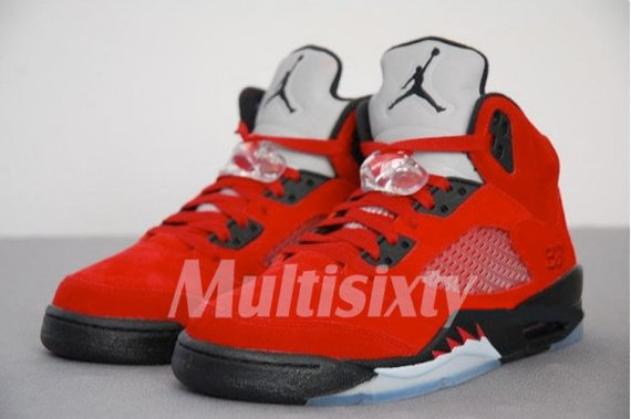 new products 391c5 75d0d Air Jordan V (5) - Raging Bull Detailed Pictures