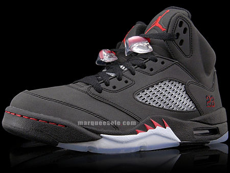 new concept b5fb3 6202a Air Jordan V (5) - Raging Bull Pack - black   varsity red