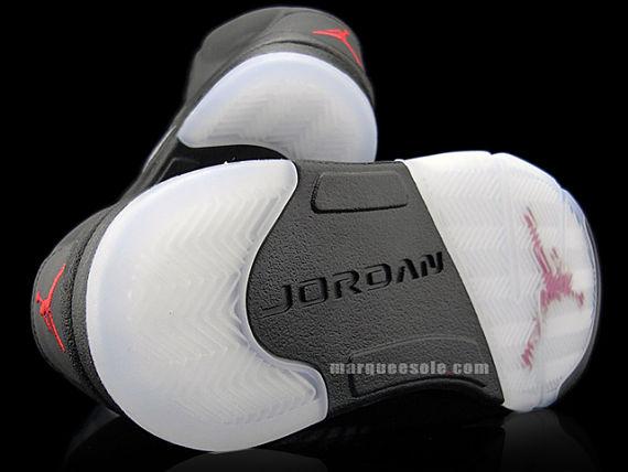Air Jordan V (5) Raging Bull Pack - Black   Varsity Red   3M ... 9bb3c1630