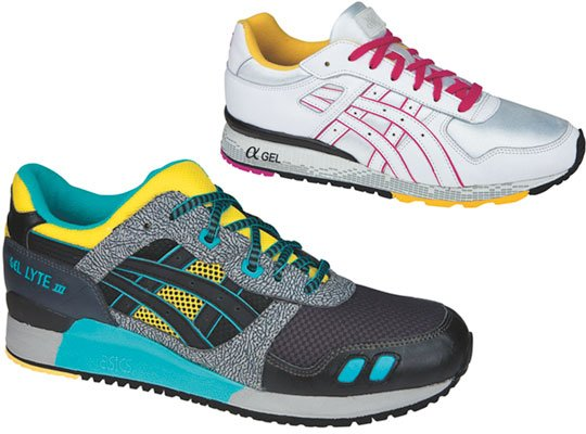 Asics Spring 2009 Collection - GT, Gel Lyte III & Pro Court