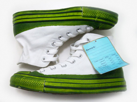 Converse All Star Fresh Cut Grass Sample