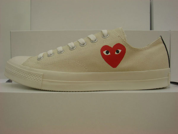 Comme Des Garcons x Converse PLAY Chuck Taylor Pack