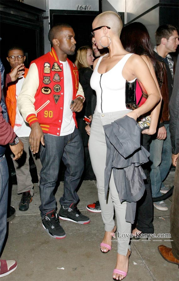 Kanye West Wearing Air Jordan IVs (4)