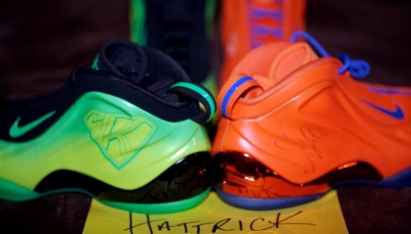 Nate Robinson Nike Foamposite Lite Orange Kryptonate PE  f4e9252af1b5