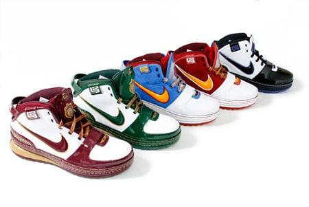 Las mejores zapatillas de básquet de la historia a mi ver