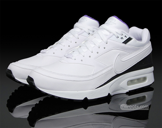 Nike Air Classic BW - White / Purple / Black