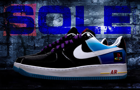premium selection 17252 e32c3 Nike Air Force 1 - Playstation 10th Anniversary