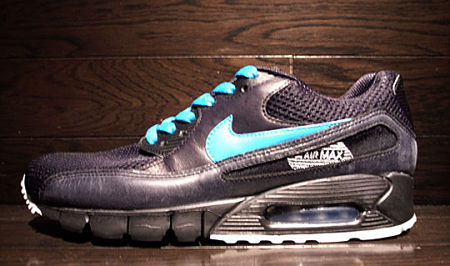 Nike Air Max 90 Current Tier Zero - Black / Turquoise