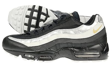 the best attitude 49d7d d1206 Nike Air Max 95 JD Sports Exclusive - Black / Grey / Silver ...