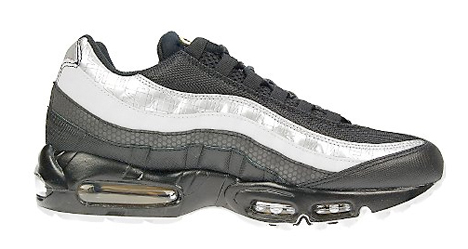 new product eb8f1 0e015 Nike Air Max 95 JD Sports Exclusive Black Grey Silver Gold ...
