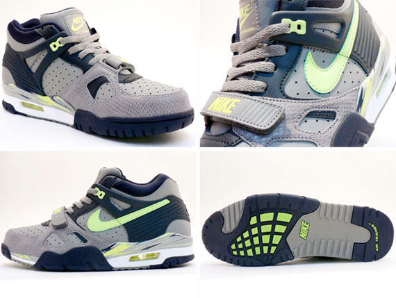 Nike Air Trainer III LE - Grey / Neutral Yellow / Snake