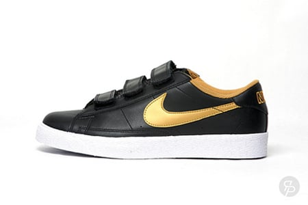 Nike Blazer AC - Black / Gold