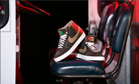 Nike Blazer Elite SB - Dark Army/Khaki