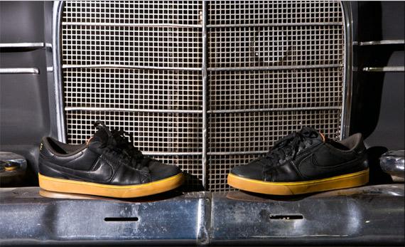 Nike Blazer Low Hybrid Premium - Black/Black