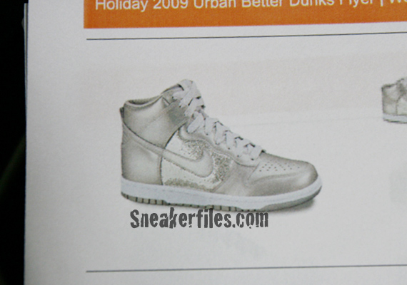Nike Dunk High Holiday 2009 Preview