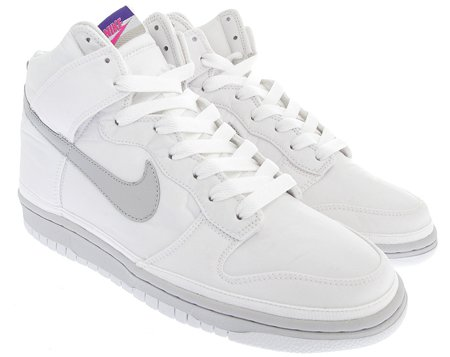 nike shoes white high tops. nike dunk high nylon premium - white / neutral grey purple shoes tops h