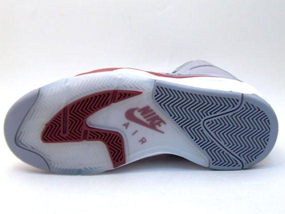 Nike Flight Lite High LE - Grey / Red / White 3