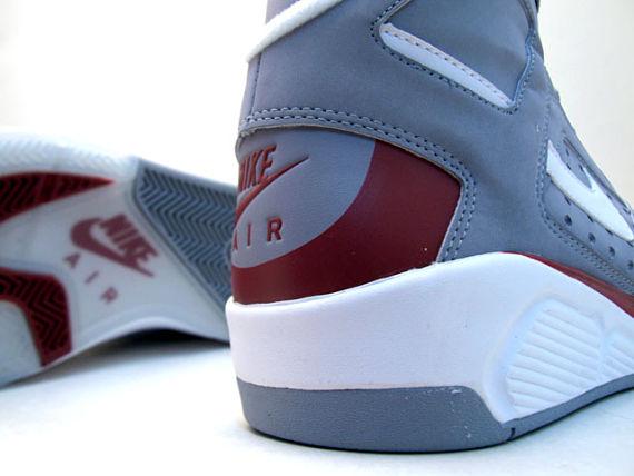 Nike Flight Lite High LE - Grey / Red / White 4