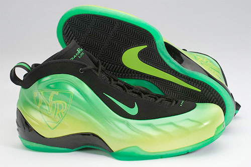 Nike Foamposite Lite Shoes green