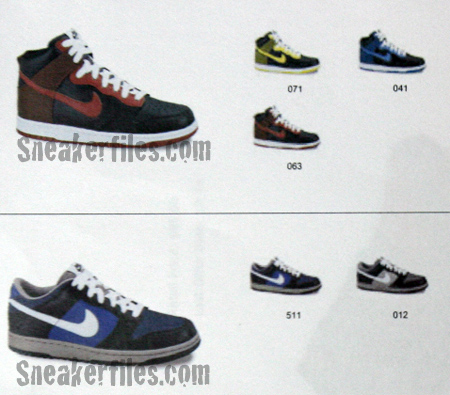 Nike Holiday Preview - Dunk High & Dunk Low