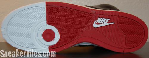 Nike RT1 High Black / Black - Varsity Red - White Detailed Look