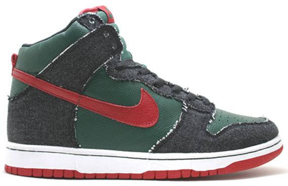 Nike SB Dunk High Premium Holiday 2009 - Gucci