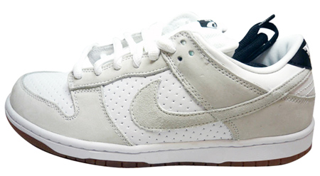Nike SB Dunk Low Premium By Gino Iannucci - White / White