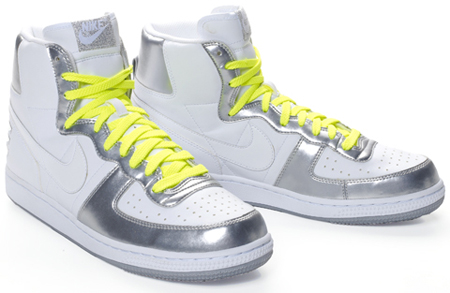 Nike Sportswear Terminator High - Silver / Neon