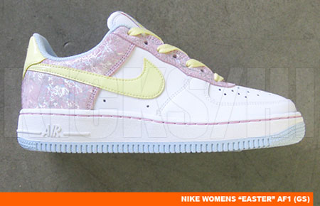 Nike Womens Air Force 1 GS - Easter