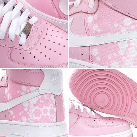 Nike Womens Air Force 1 High - Pink / White