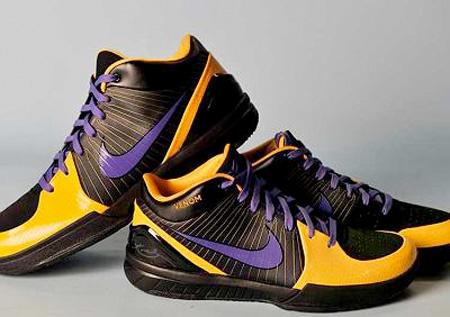 buy online 9f831 da84d Nike Zoom Kobe IV (4) - Black Mamba