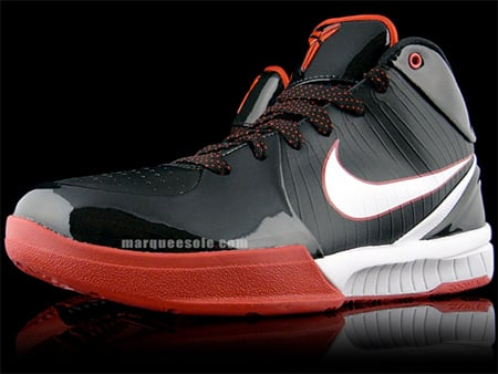 Nike Zoom Kobe IV (4) - Black / White