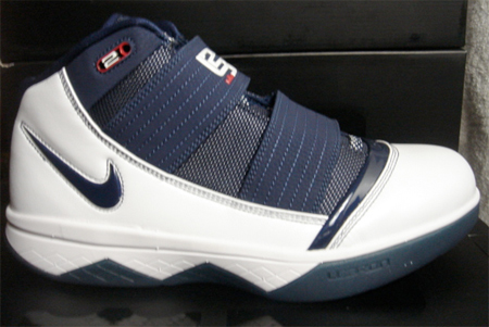 sports shoes d2d91 4e0e3 Nike Zoom Lebron Soldier III (3) - White / Navy / Red ...