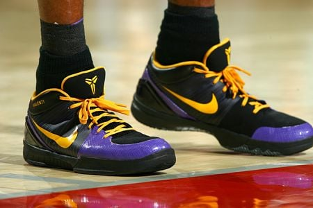 Kobe Bryant Zoom Iv. Being Kobe Bryant has many