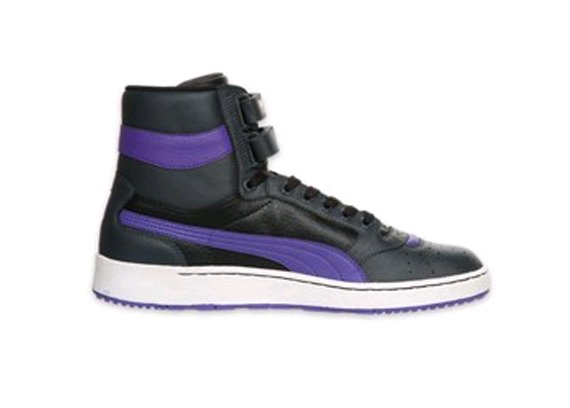 Puma Sky II Hi Weave - Black / Dark Shadow / Violet