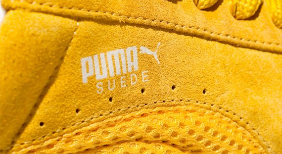 Puma Suede I - Yellow / Yellow