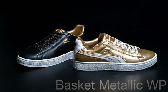 Puma Basket Gold