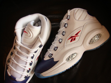 Reebok The Question - White / Pearl Navy