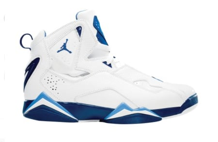 air jordan true flight blue