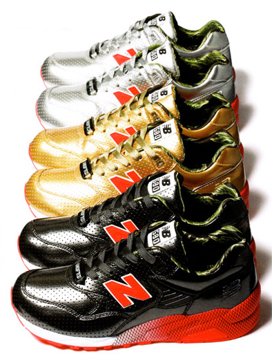 Stussy x Undefeated x realmad HECTIC x New Balance MT580 - Full Metallic Jacket Pack