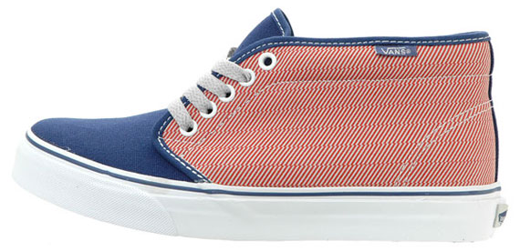 Vans Angle Stripe Pack - Authentic, Chukka & Slip-On