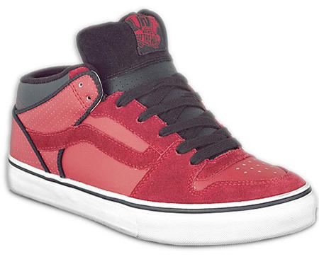 f2059f0162684b Vans TNT 2 Mid - Red