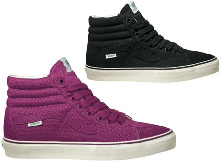 Vans Vault Messenger Pack - Black & Purple